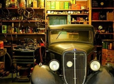 Car industry repair garage