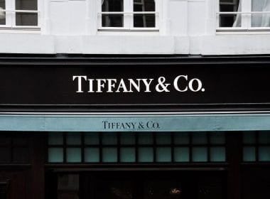 Tiffany & Co shop front